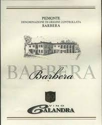 Calandra Barbera Piemonte